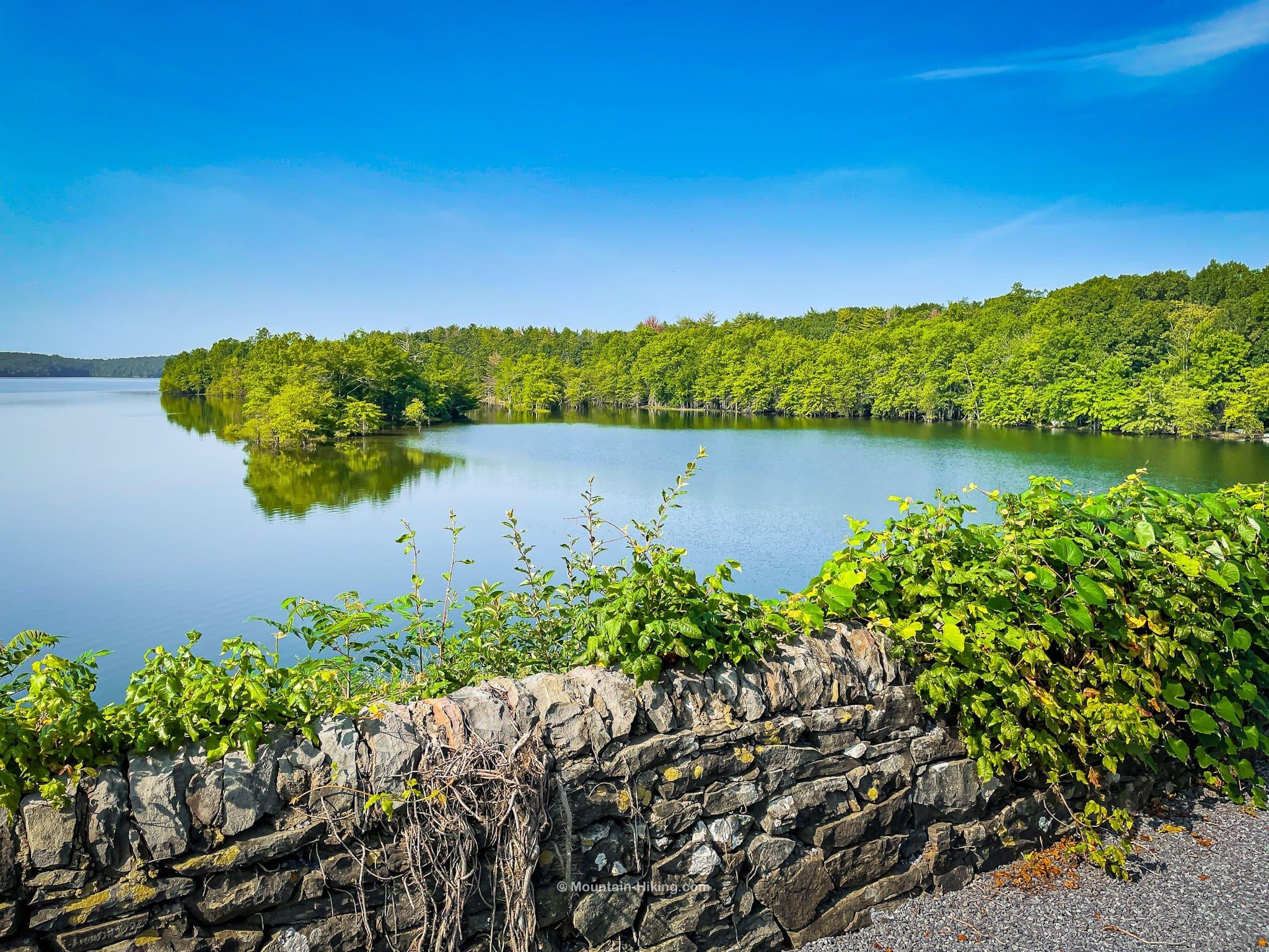 Ashokan Rail Trail scenic water view