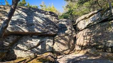 plateau rock ledge