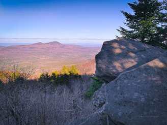 Plateau hiking trail