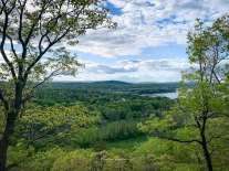 scenic view of Hudson River