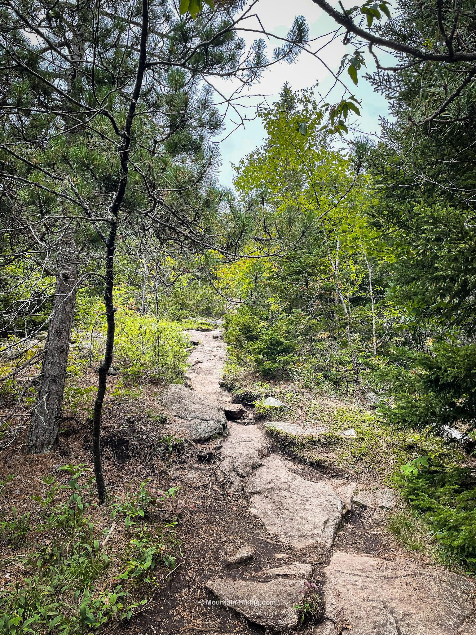 big crow hiking trail