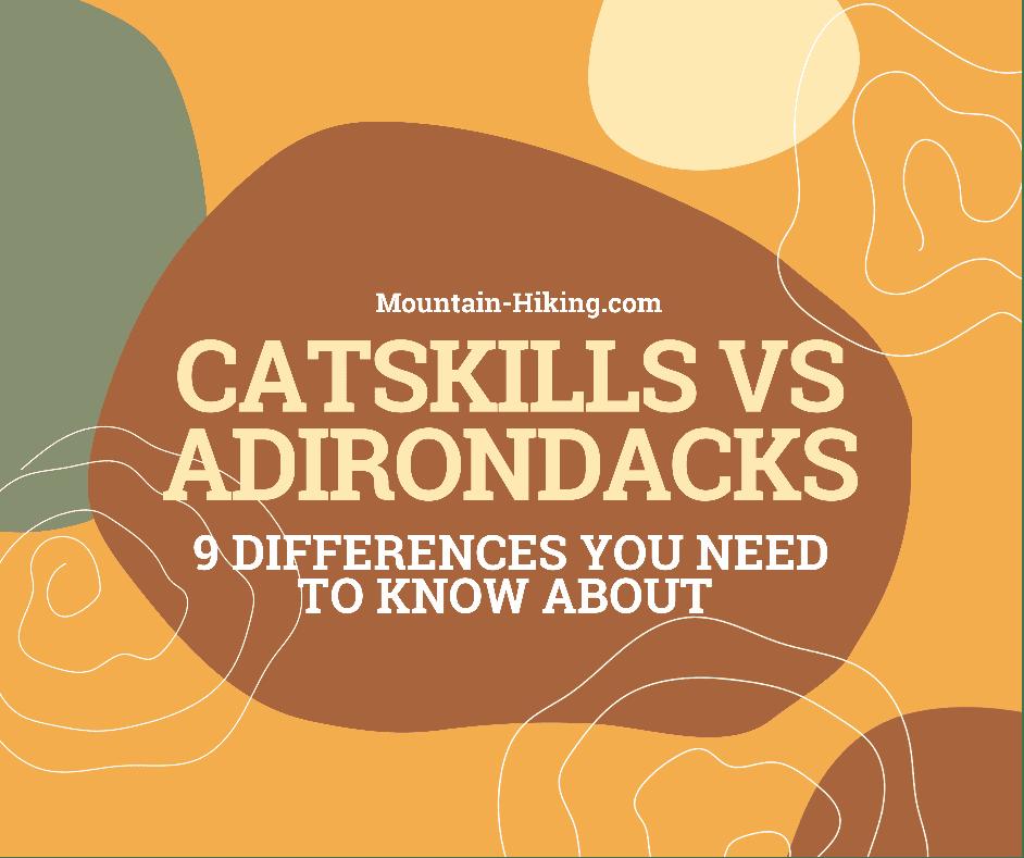 catskills vs Adirondacks hiking header graphic