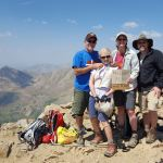 Hiking Mt Elbert