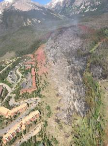 Wildfire proximity to homes