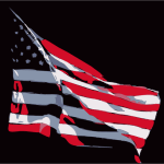 Flag for Memorial Day