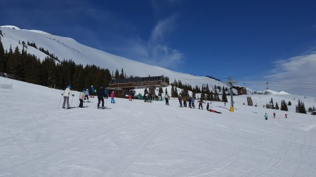 Skiing Breck before Closing Date 2019
