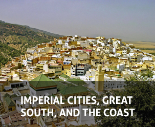 IMPERIAL CITIES, GREAT SOUTH, AND THE COAST