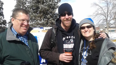 Mountain Academy of Martial Arts Polar Plunge for Special Olympics Team