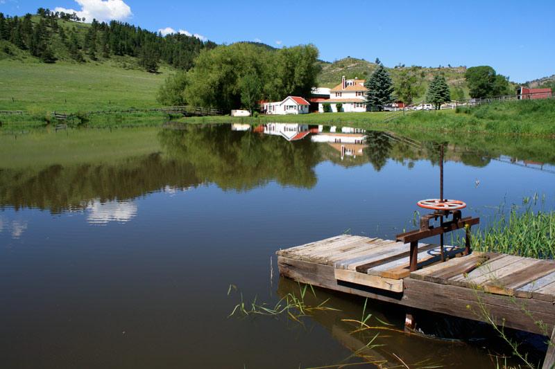 Flat-Rock-Ranch-pond
