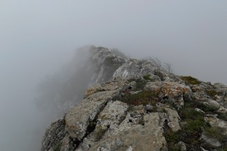 Serra delle Ciavole, summit ridge