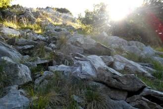 """Early morning scramble, """"La Cresta"""" - Monte La Calvia"""