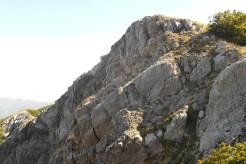 Cozzo del Pellegrino (1,987m), close to the summit