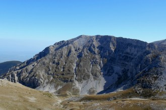 Cima delle Murelle, the west face and the valley