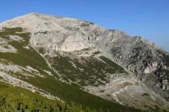 East face of Mt. Acquaviva