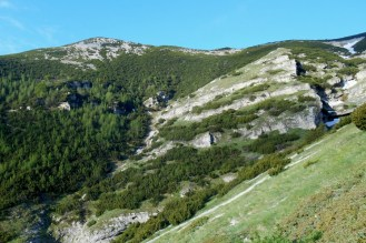 Monte Pizzone (from the north)