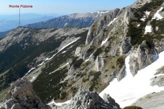 Mt. Pizzone (from the east ridge of Mt. Acquaviva)