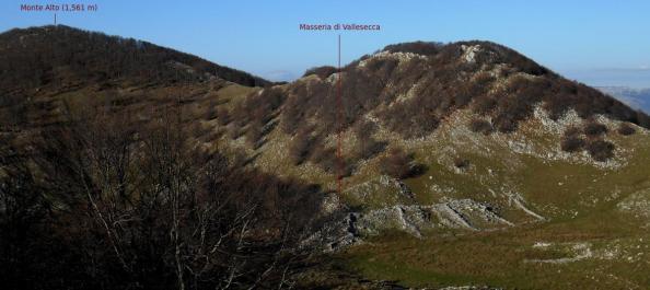 Masseria di Vallesecca and Monte Alto
