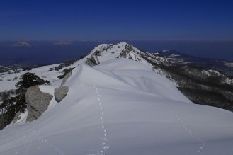 The north ridge (Serra di Crispo)