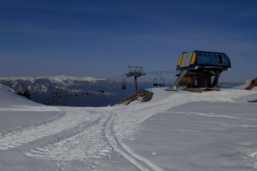 Ski lift station (Guado di Coccia)