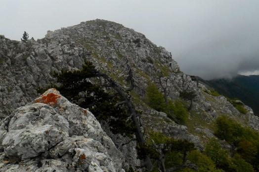 Monte Manfriana (eastern summit)