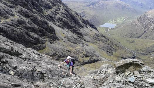 Clach Glas to Bla Bheinn traverse, Isle of Skye