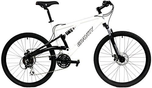 2018 Gravity FSX 1.0 Dual Full Suspension Mountain Bike