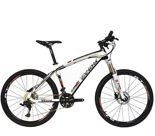 BEIOU Carbon Fiber Mountain Bike Hardtail MTB LTWOO 30 Speed