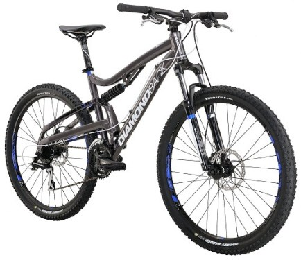 Diamondback Bicycles 2016 Recoil Complete Full Suspension Mountain Bike