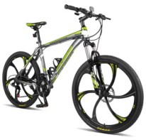Merax Finiss 26 Aluminum 21 Speed Mg Alloy Wheel Mountain Bike