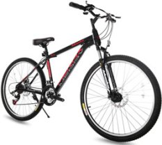 Merax 26 Dual Disc Brakes 21 Speed Hardtail Mountain Bike