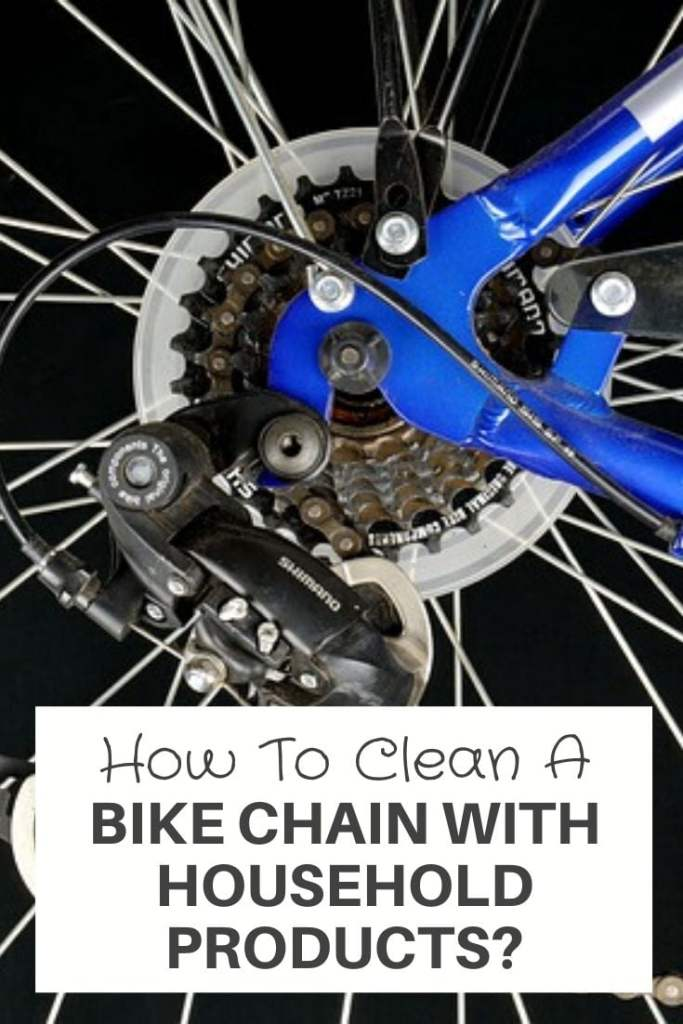 Bike Chain With Household Products