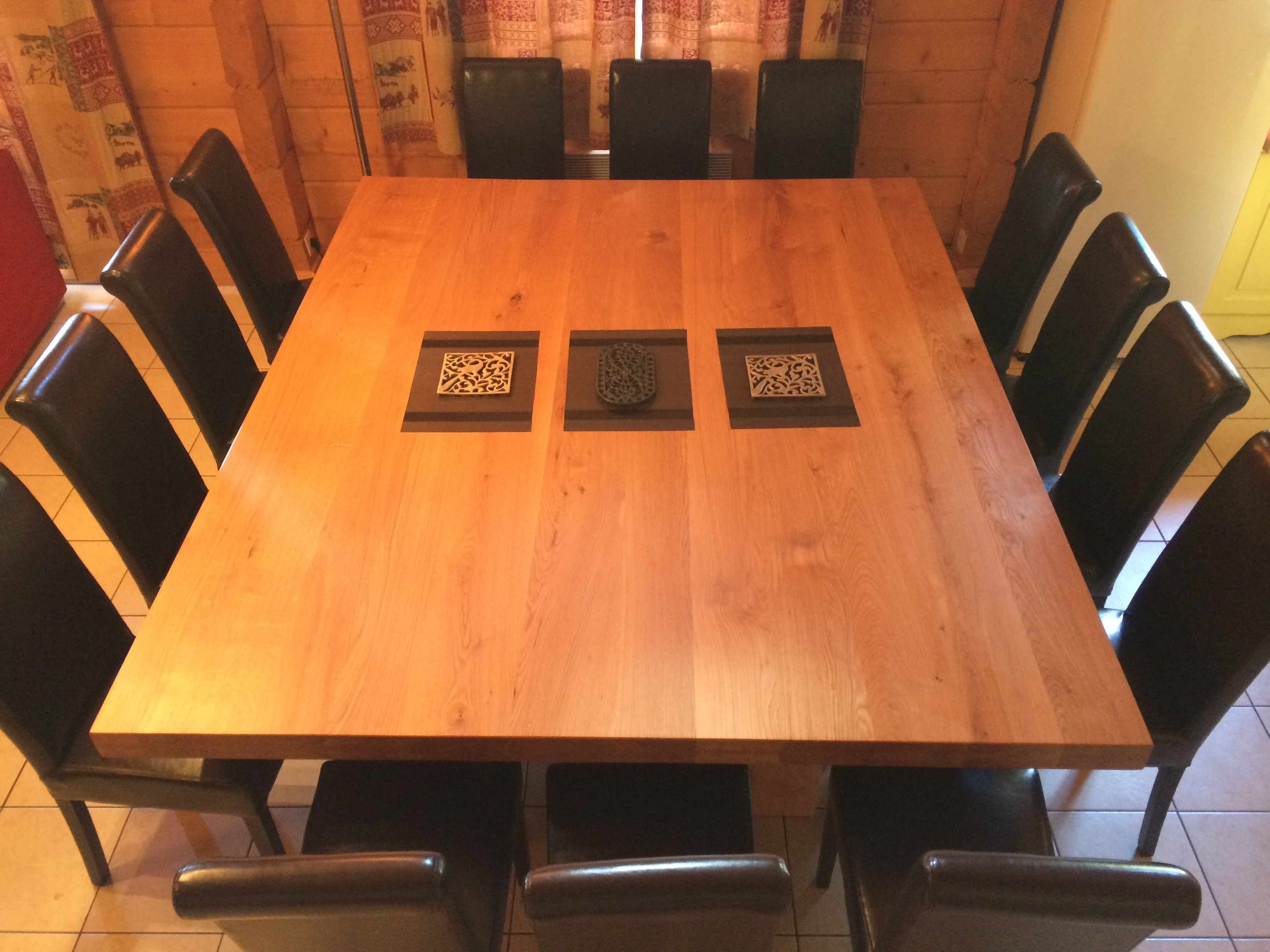 Dining room table 2