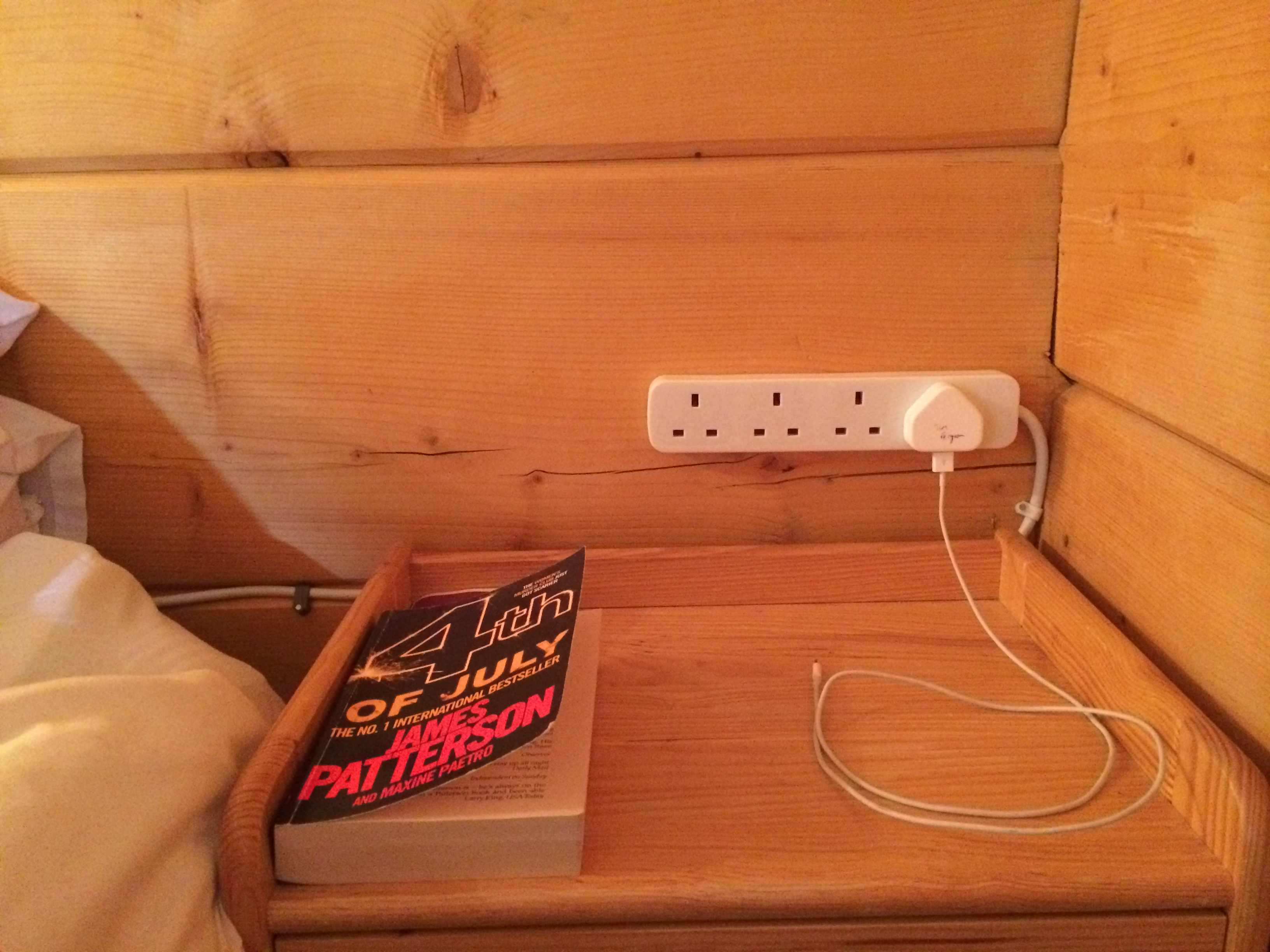 British Plug in every bedroom