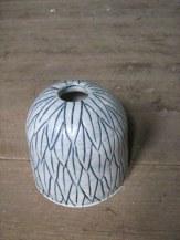 engraved leaf pot