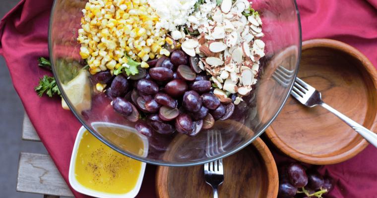 Roasted Corn Farmhouse Salad