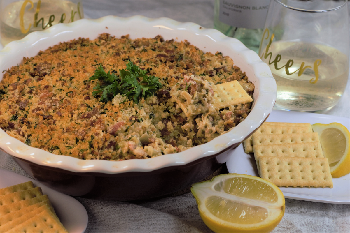 Clams Casino Dip