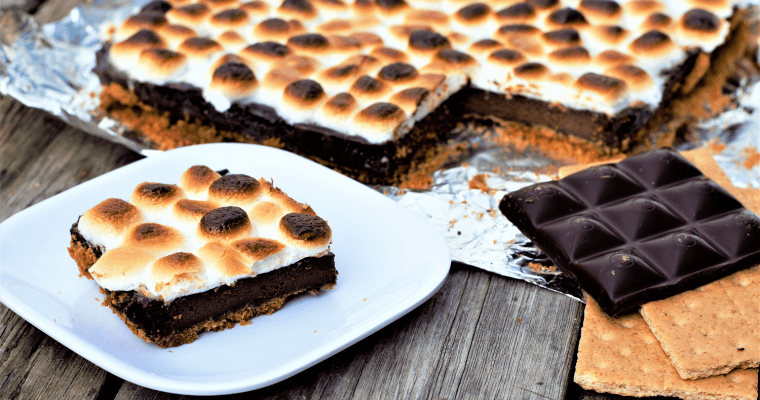 Campfire S'mores Bars