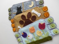 Spring Flowers, Dog Paws, Kitty in the Window $12