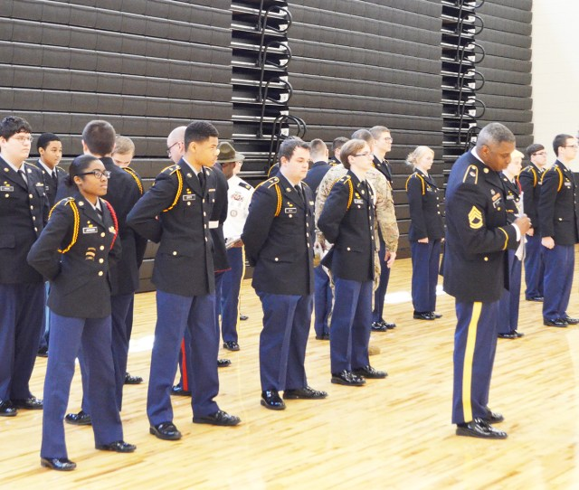 Jrotc Cadets Receive Gold Star Unit Ranking Daily Mountain Eagle