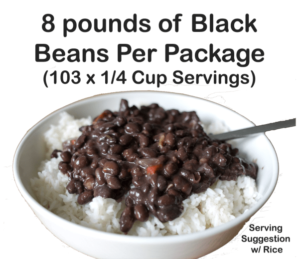 8 Lbs of Black Beans