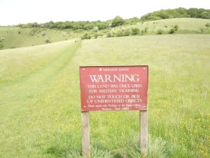 An unexpected hiking hazard in England
