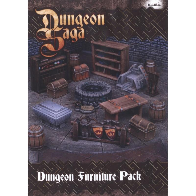 Dungeon Saga Dungeon Furniture Pack Mountain Gremlin Games
