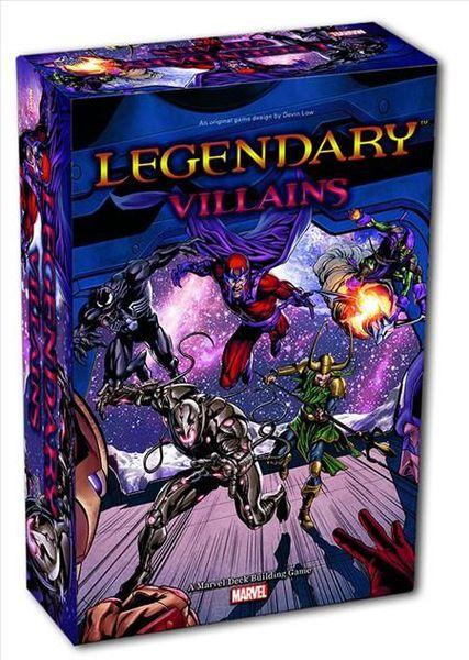 Legendary : Villains - A Marvel Deck Building Game - Mountain Gremlin Games