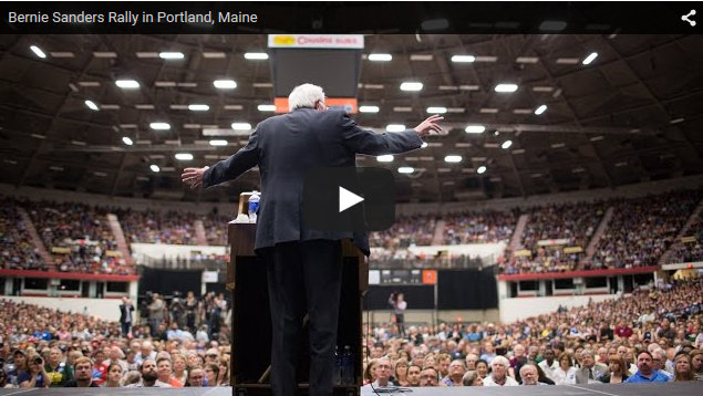 Bernie Sanders Rally in Portland, Maine