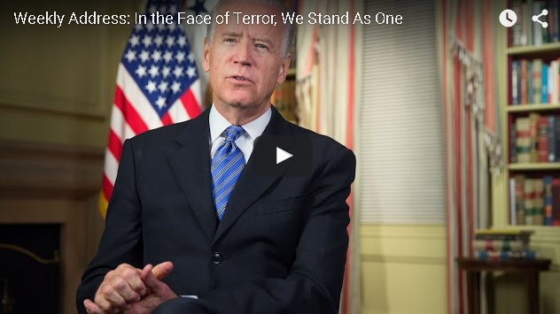 President's Weekly Address: In the Face of Terror, We Stand as One