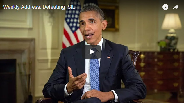 President Obama's Weekly Address:  Defeating ISIL
