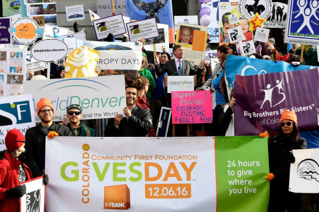 100 Nonprofits Rally At State Capitol To Promote Colorado Gives Day