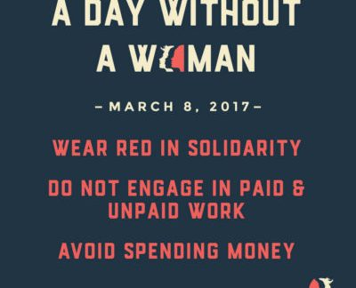 """Women's March Organizers Promoting """"A Day Without A Women"""" Tomorrow!"""