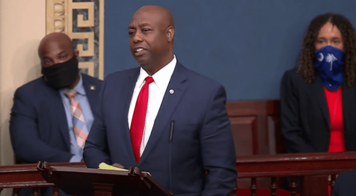 Senator Tim Scott's Speech on Senate Floor After Senate Democrats Vote Down Police Reform Act