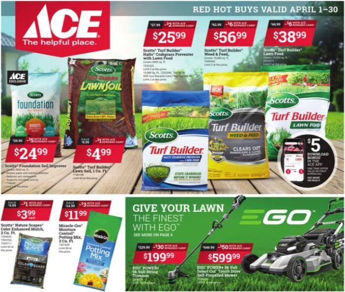 April Savings Await at Your Local Ace Hardware!